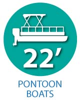 22' Pontoon Boats